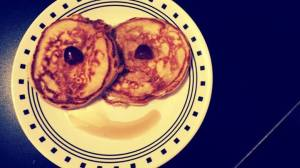 The smiling pancakes